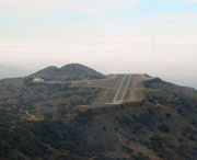 Catalina Island Airport in the Sky where I have made a few challenging landings/takeoffs