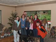 Christmas, family 2008