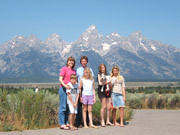 Family, Grand Tetons