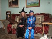 Danielle, Timothy Halloween 2009