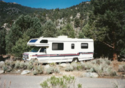 Camping in Kennedy Meadows, 1994