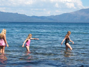 Kids, Lake Tahoe, Sugar Pine Point