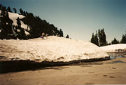 Lassen Peak Trailhead, August 1998