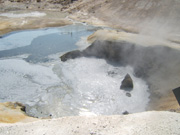 Lassen Volcanic National Park, mud pots