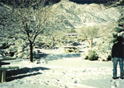Camping in Lone Pine Campground in the Eastern Sierra, 1994