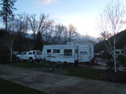 Seven Feathers RV Park Oregon, New Years Day