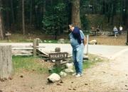 Randy showing his comical side in Yosemite