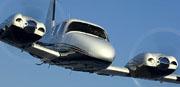 Piper Seneca, the plane I got my multi-engine license in