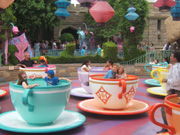 Teacups at Disneyland