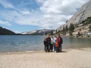 Family at Tenaya Lake