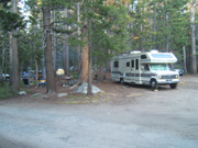 Campsite Tuolumne Meadows Campground