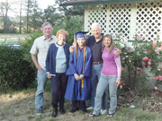 Michelle Grants Pass High School Graduation with Counds