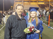 Michelle Graduation with Uncle Bruce