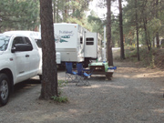 Campsite at Sumpter Pines RV Park, Space 5