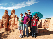Family Bryce Canyon 2013
