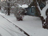 Our Home on H Street after snowstorm December 2013