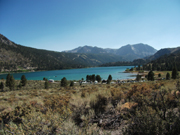 June Lake from Oh Ridge Campground