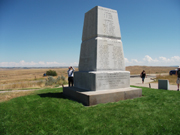 Battle of Little Big Horn Monument 2014