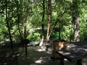 Mill Creek Campground near Timpanogos Caves National Monument Utah