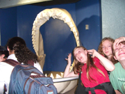 Michelle, Danielle, Timothy, Shark Jaw Sea World