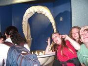 Michelle, Danielle, Timothy, Shark Jaw Sea World